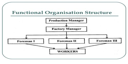 Functional Organizational Structure of Project Organization