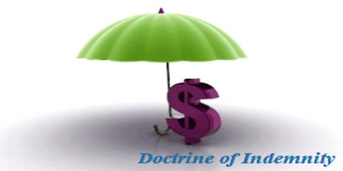 Various methods of providing Indemnity