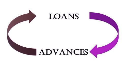Is there any difference between loans and advances?