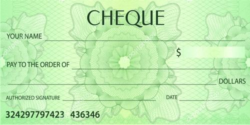 Collection procedure of a Cheque
