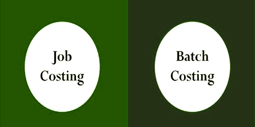 Distinguish between Job Costing and Batch Costing