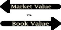 Difference between Book Value and Market Value