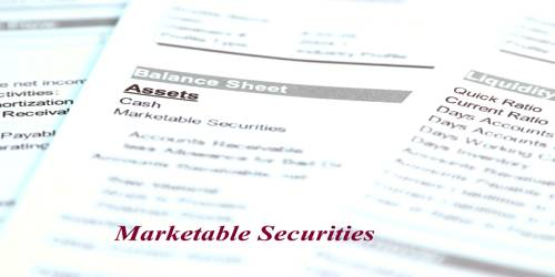 Types of Marketable Securities