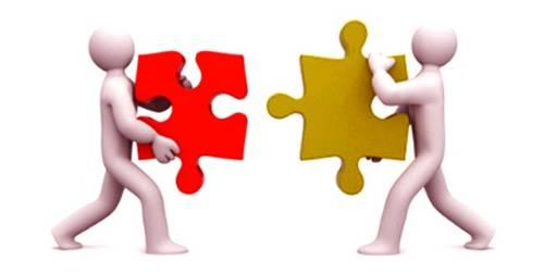 Motives of Merging