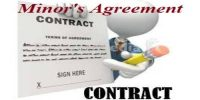 Rules Regarding Minor's Agreement