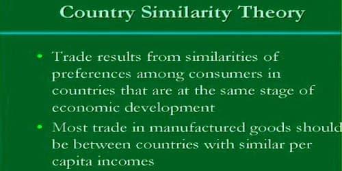 Country Similarity Theory of International Trade