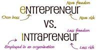 Differences between Entrepreneur and Intrapreneur