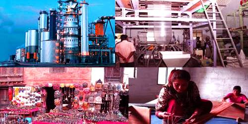 Various types of Small-scale Industries