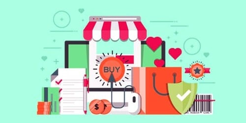What is marketed by a marketer?