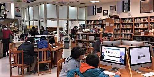 Application for providing WIFI facility in Library