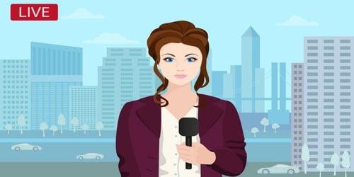 Cover Letter format for News Reporter Job Position