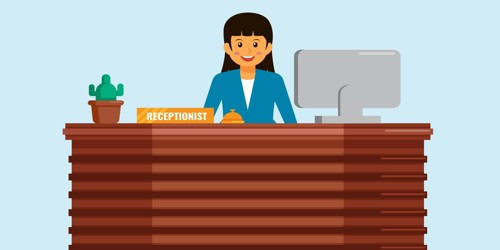 Cover Letter for the Post of Receptionist