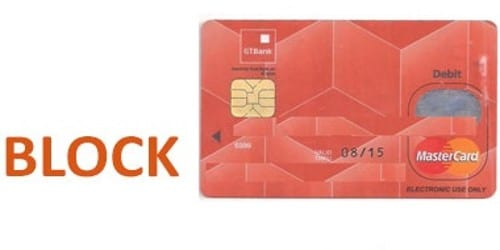 Letter to Bank to inform about the Lost ATM Card