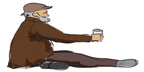 A Street Beggar