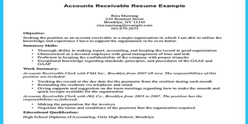 Cover Letter for Accounts Receivable Supervisor