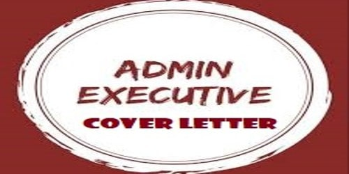 Cover Letter for Admin Executive or Officer