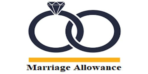 Application for Marriage Allowance under Company Policy