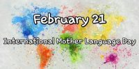 The International Mother Language Day