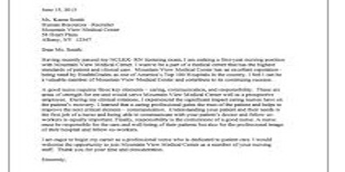 Cover Letter for Academic Dean