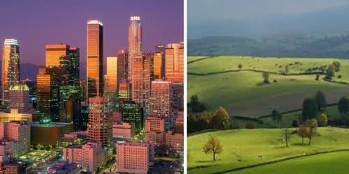 Rural Life vs. City Life