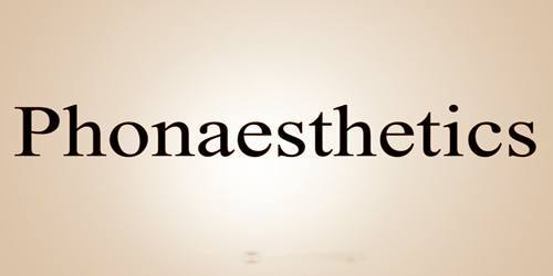 What does Phonaesthetic mean?