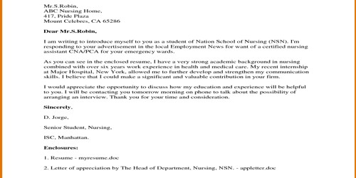 Cover Letter for Admissions Assistant