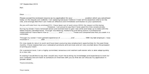 Cover Letter for Airline Manager
