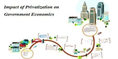 Impact of Privatization on Government Economics