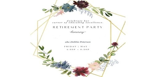 Invitation Letter for Official Farewell Party