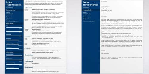 Cover Letter for Architect