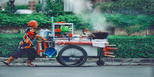 Life of a Street Hawker