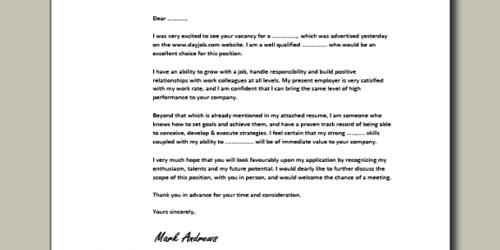 Cover Letter for Assistant Director of Admissions
