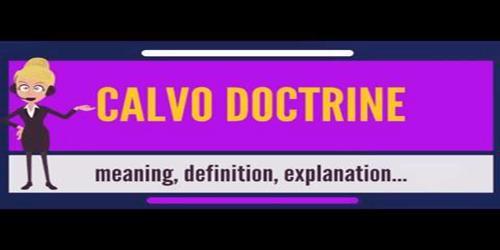 Calvo Doctrine