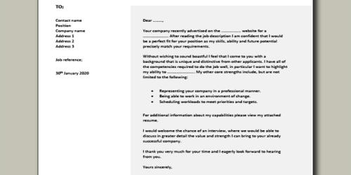 Cover Letter for Assignment Editor