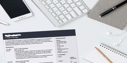Cover Letter for Audiovisual Manager