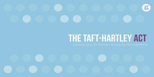 Taft–Hartley Act