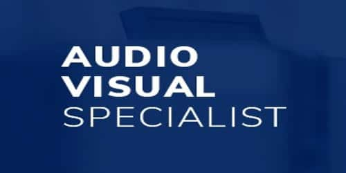Cover Letter for Audiovisual Specialist