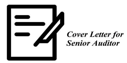 Cover Letter for Senior Auditor