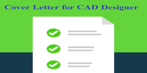 Cover Letter for CAD Designer