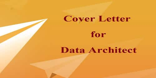 Cover Letter for Data Architect