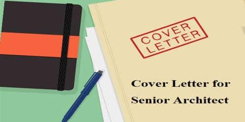 Cover Letter for Senior Architect