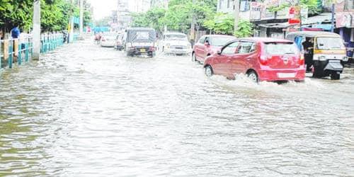Water Logging problem in Dhaka City
