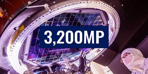 World's largest camera sensor snaps first ever 3200 megapixel