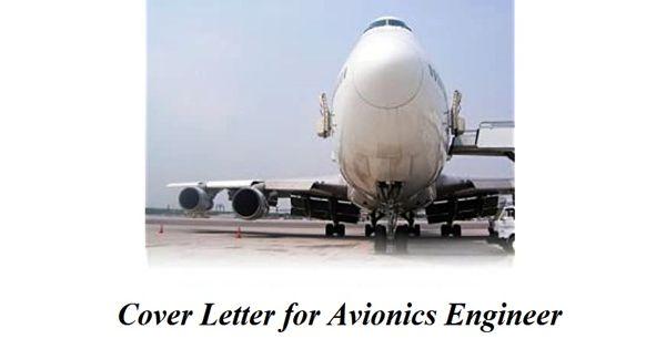 Cover Letter for Avionics Engineer