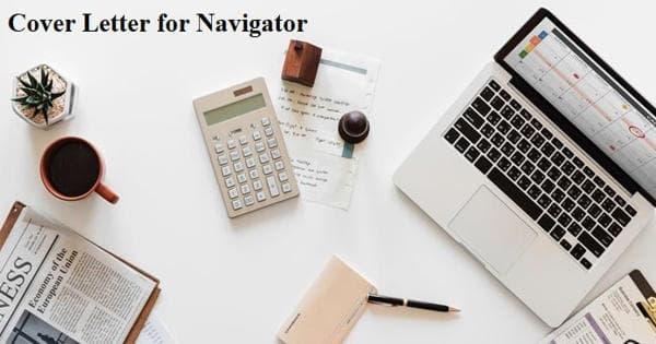 Cover Letter for Navigator