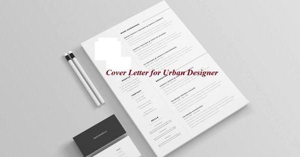 Cover Letter for Urban Designer
