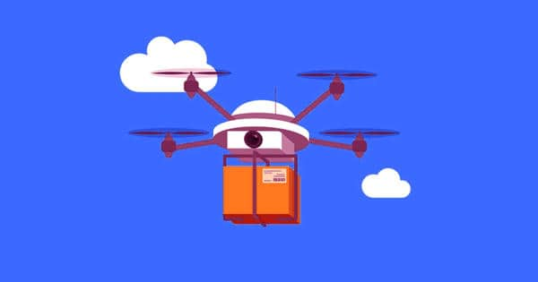 Implement drone technology in retail delivery may change logistics networks