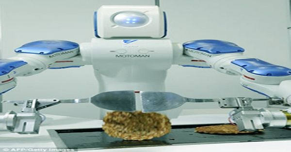 Robot chef uses machine instruction to improve its omelette-making efficiency
