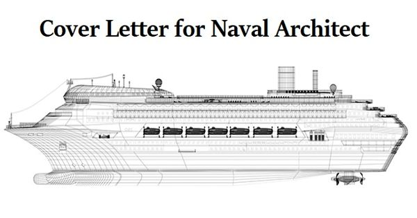 Cover Letter for Naval Architect