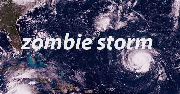 The 'zombie storm' is rising from the dead during Halloween